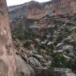 view from up high in echo canyon colorado national monument