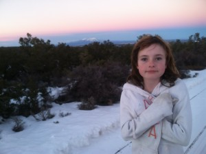 My beautiful daughter, Trinity. We were standing on top of our Jeep.