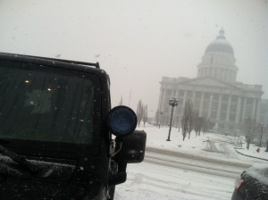 Made it up to Capital Hill thanks to mine little Jeep!