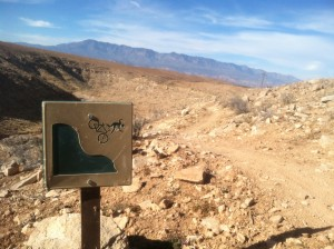 Okay, so not so many nice vista shots, but  I think this sign gives you a good idea of the terrain.