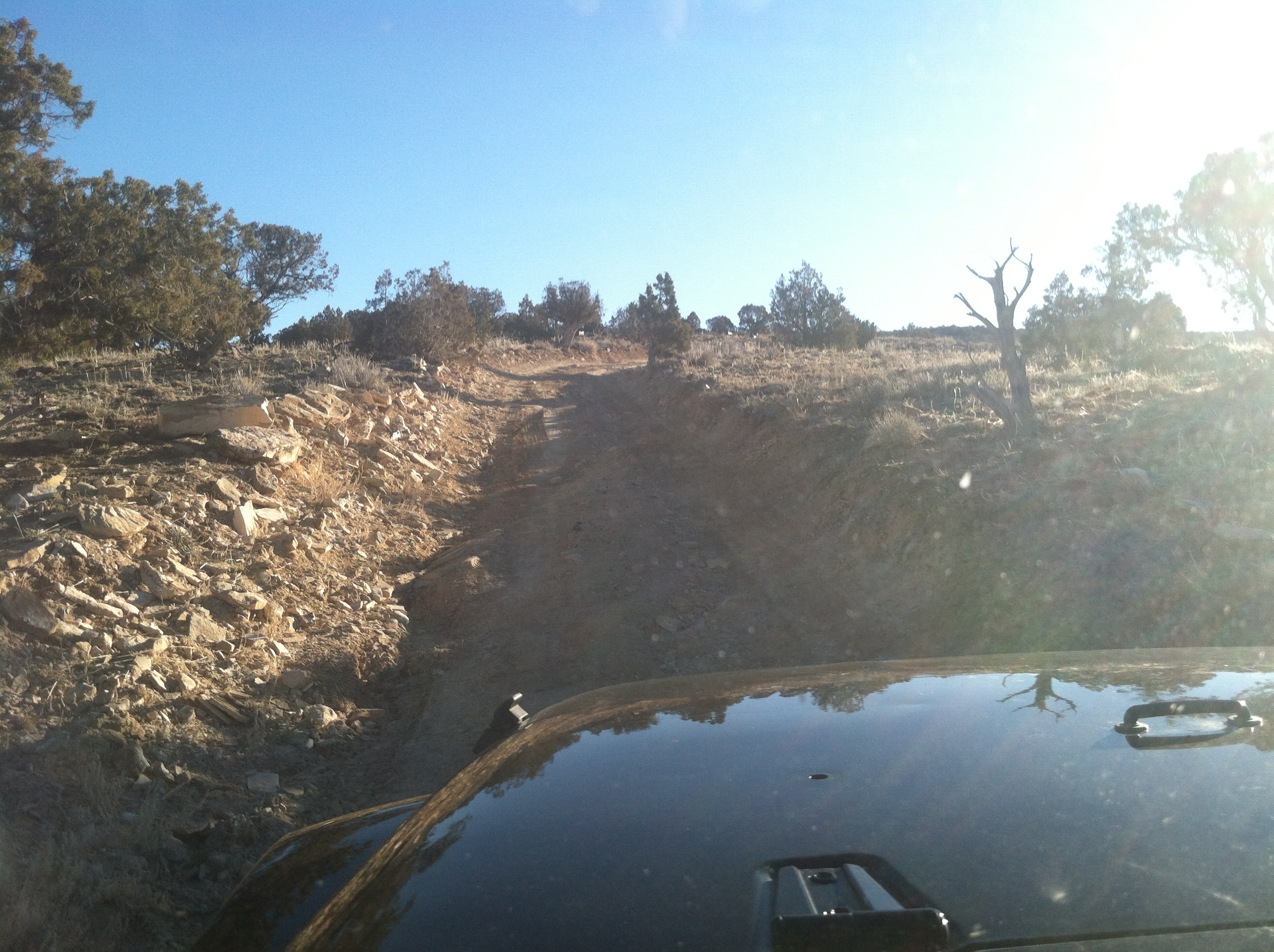 Jeep road recon.
