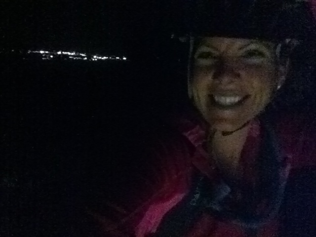 Lights of Cortez behind me