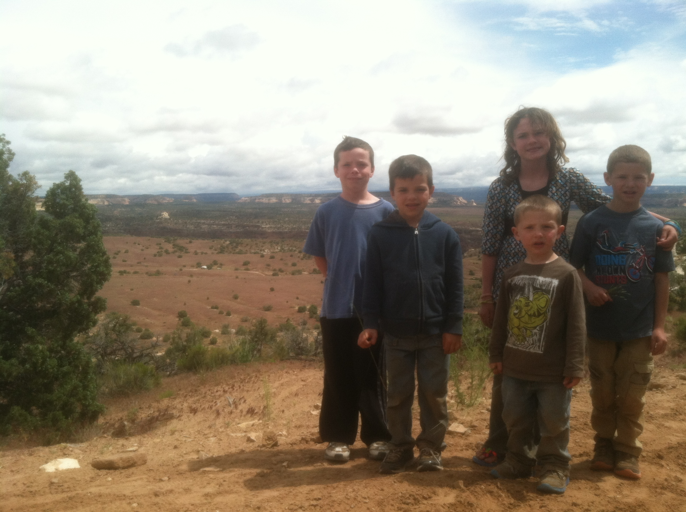 5 Kids 1 Jeep and a Beautiful Day