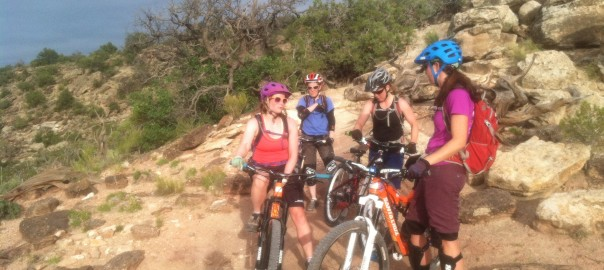 singletrack and skinny tire sisters