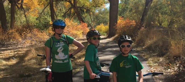 riding the riverfront trail grand junction