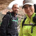 matt janson and elisa jones in echo canyon colorado national monument grand junction colorado