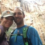 Hiking No Thoroughfare Canyon Colorado National Monument first waterfall
